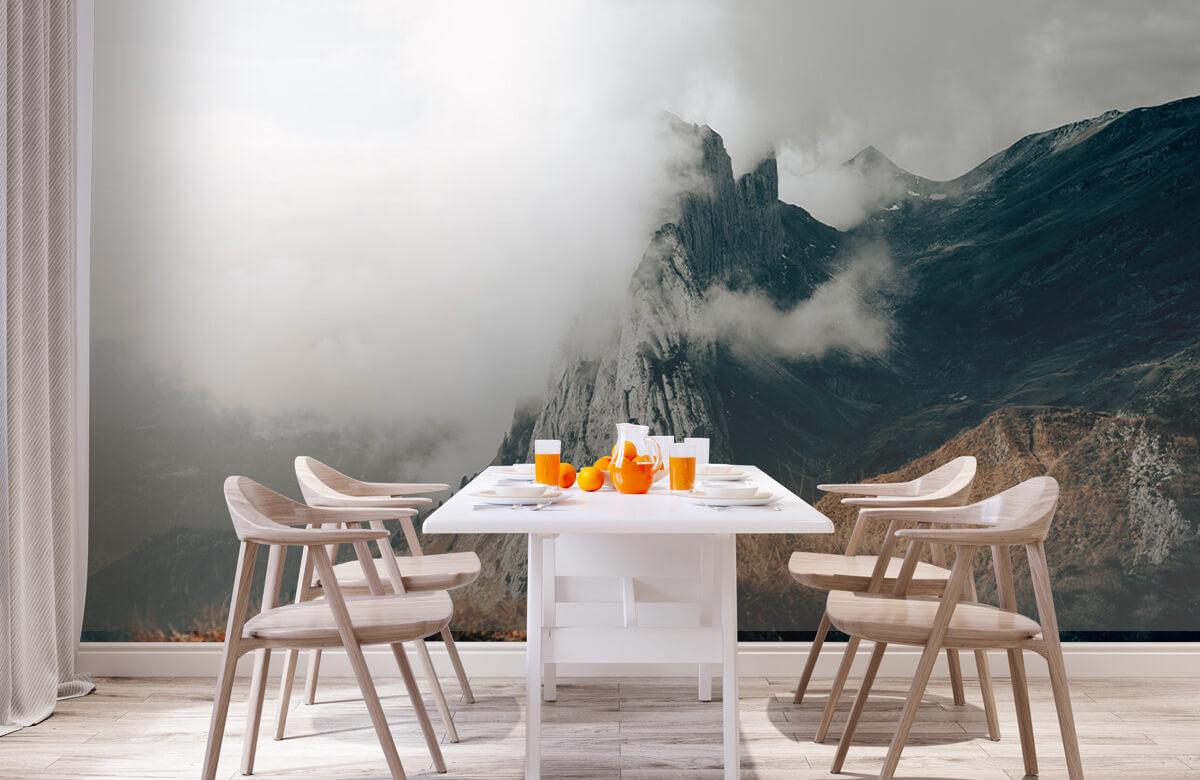 wallpaper Zwitserse Alpen 2