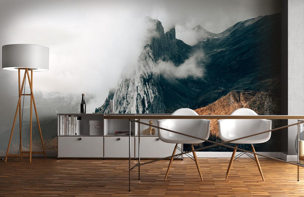 wallpaper Zwitserse Alpen 1