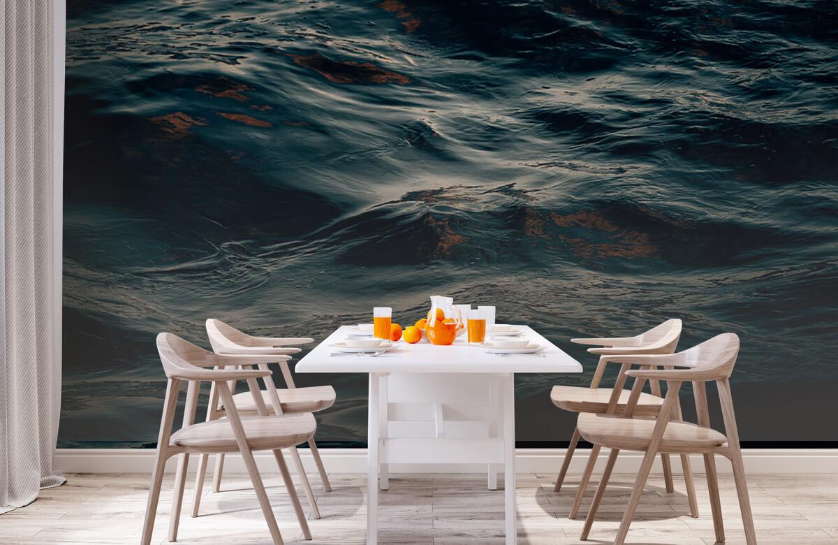 wallpaper Oceaan golven 1