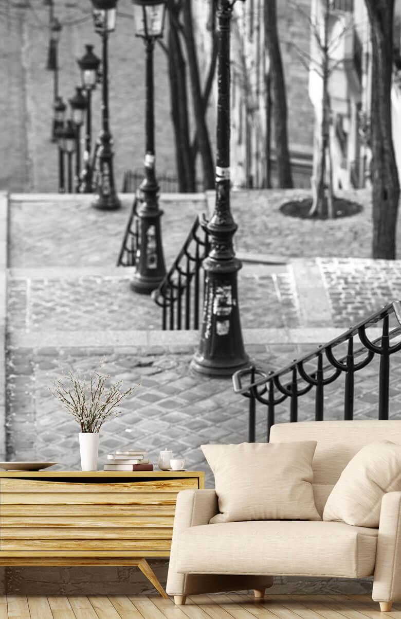 De beroemde trap in Montmartre 1