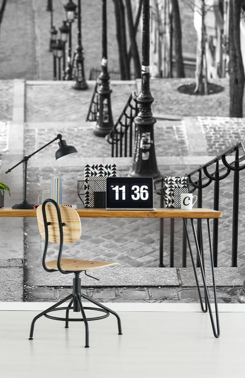 De beroemde trap in Montmartre 11