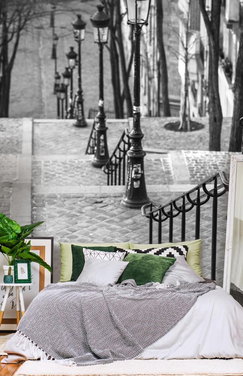 De beroemde trap in Montmartre 2