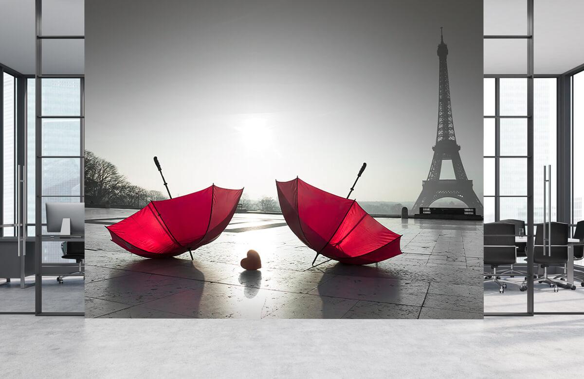 Rode paraplu's 7