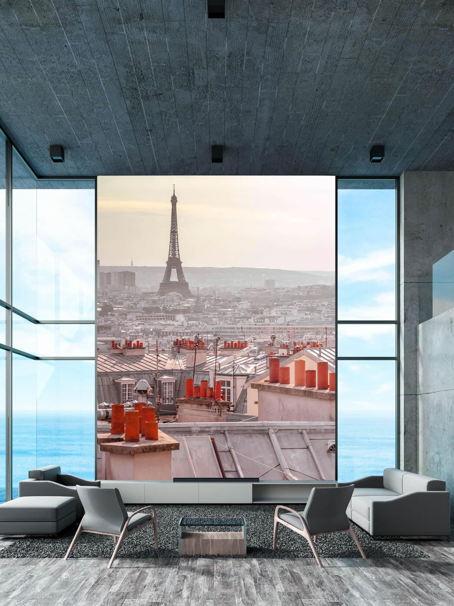 Eiffeltoren vanaf Montmartre 1