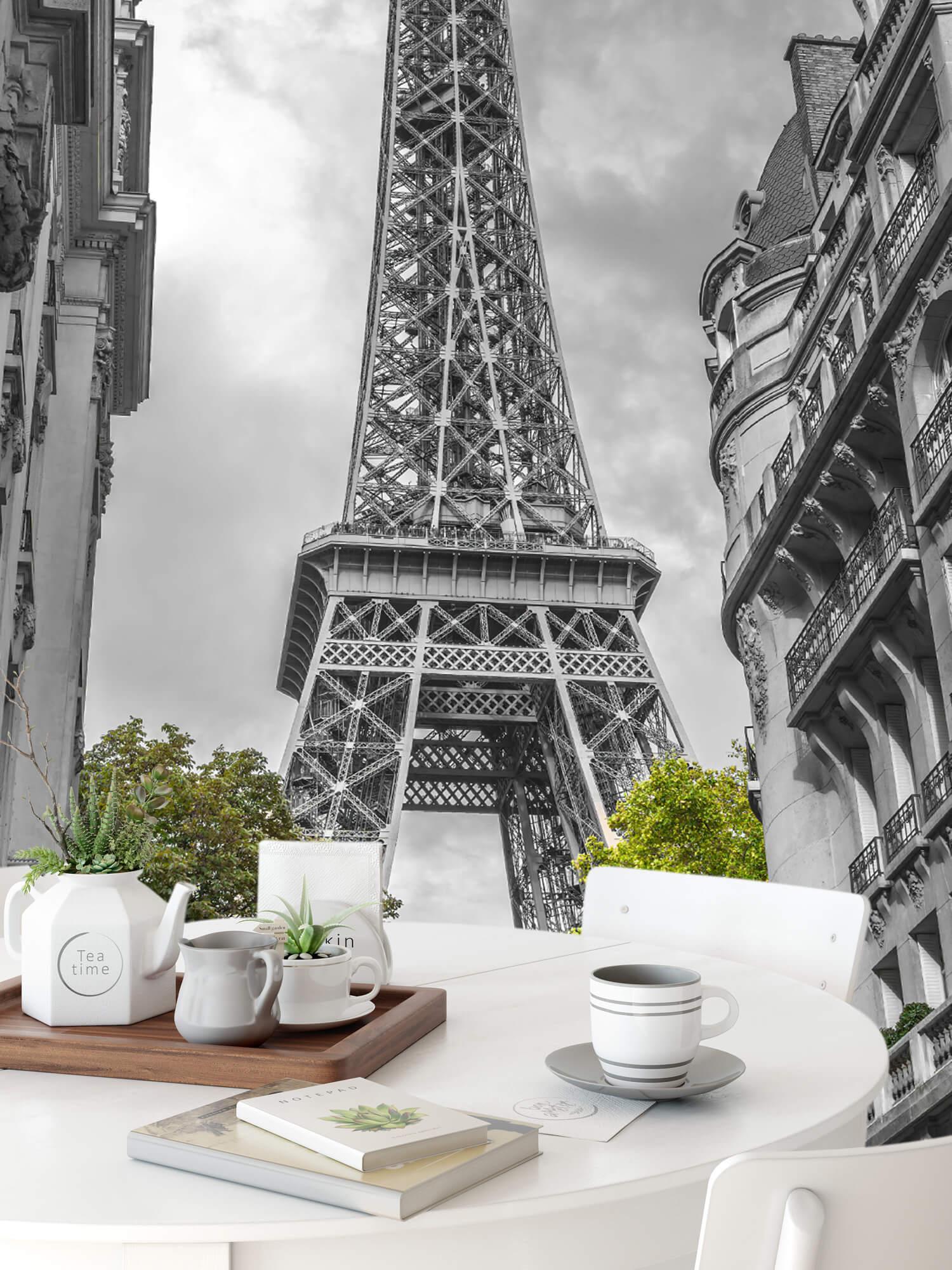 Eiffeltoren zwart-wit 9
