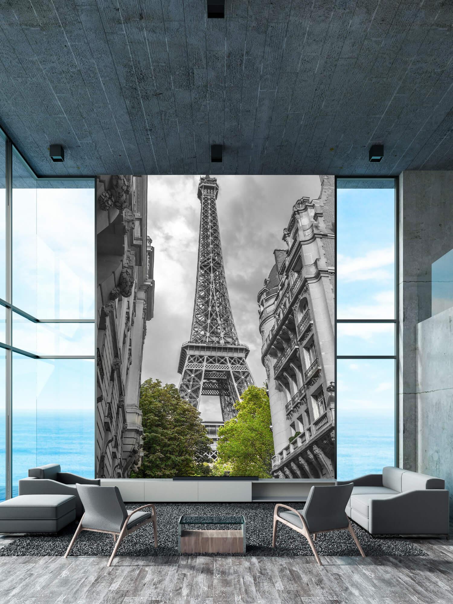 Eiffeltoren zwart-wit 1