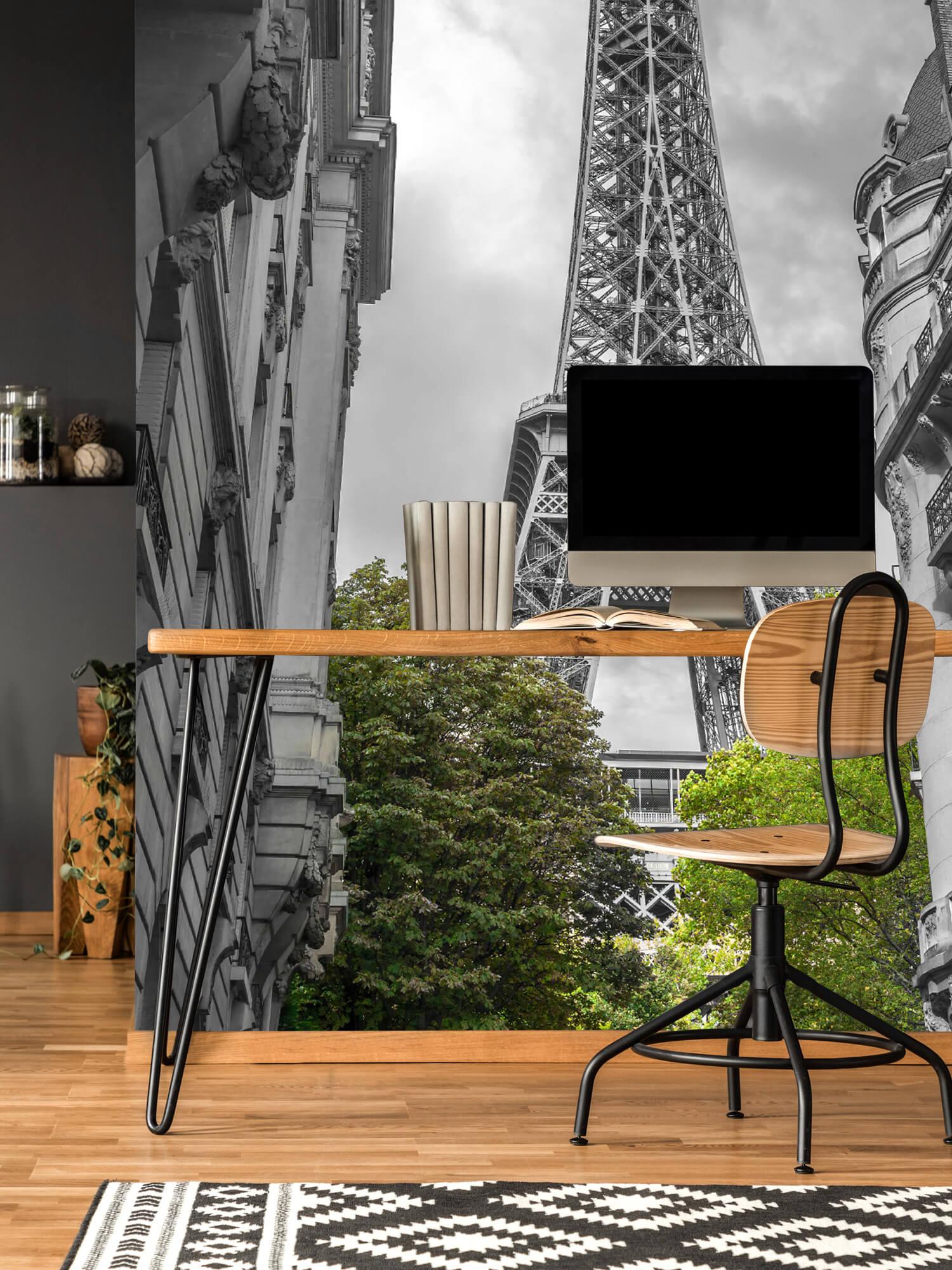 Eiffeltoren zwart-wit 4