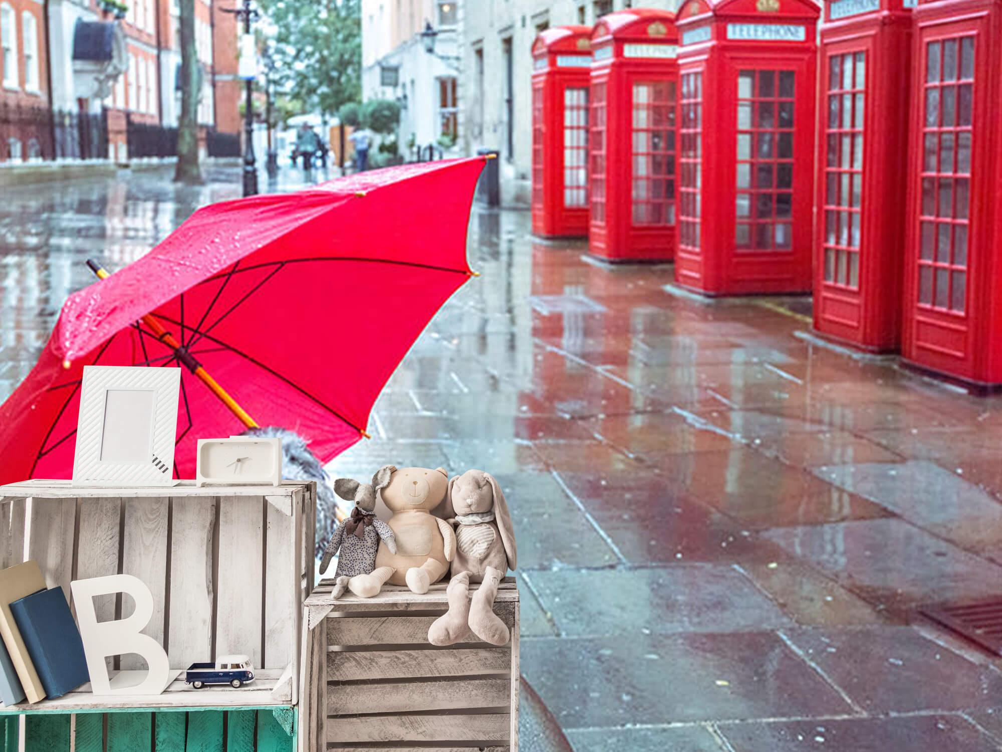 Hond met paraplu 12