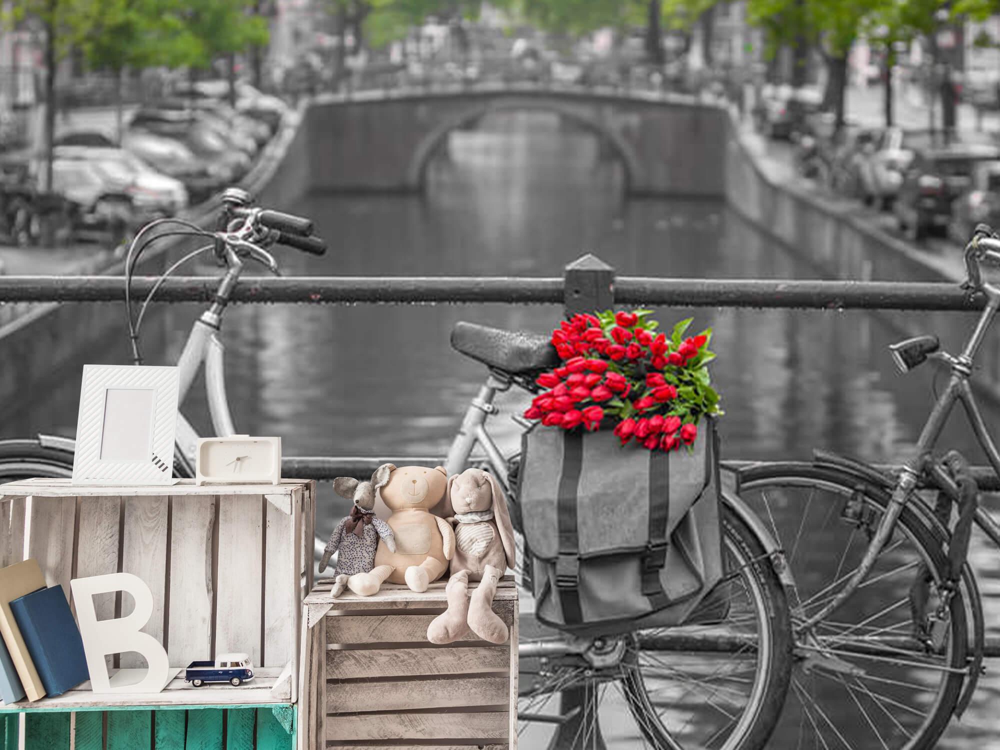 Fiets met bloemen 13