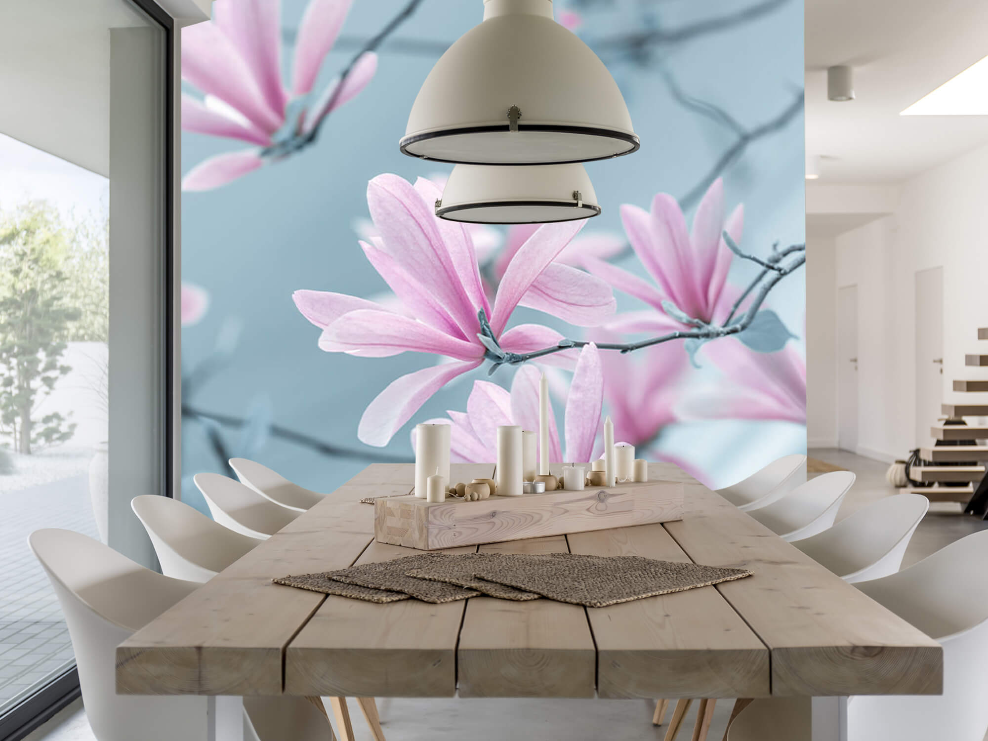 Magnolia bloemen 1