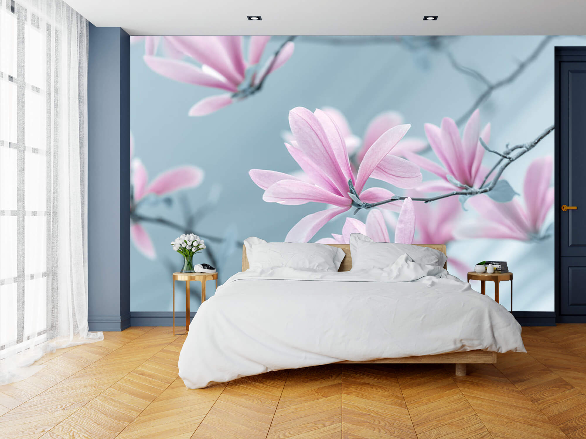 Magnolia bloemen 11