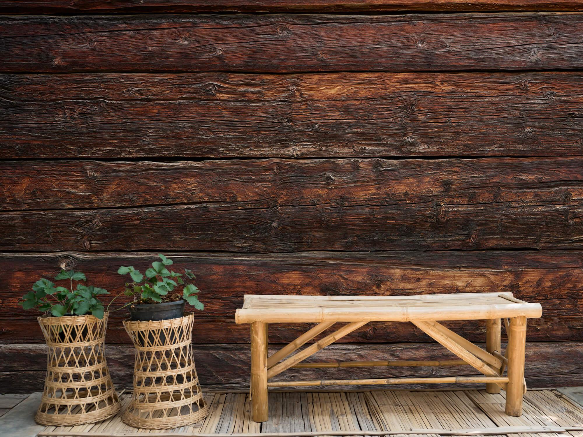 wallpaper Grof hout 4