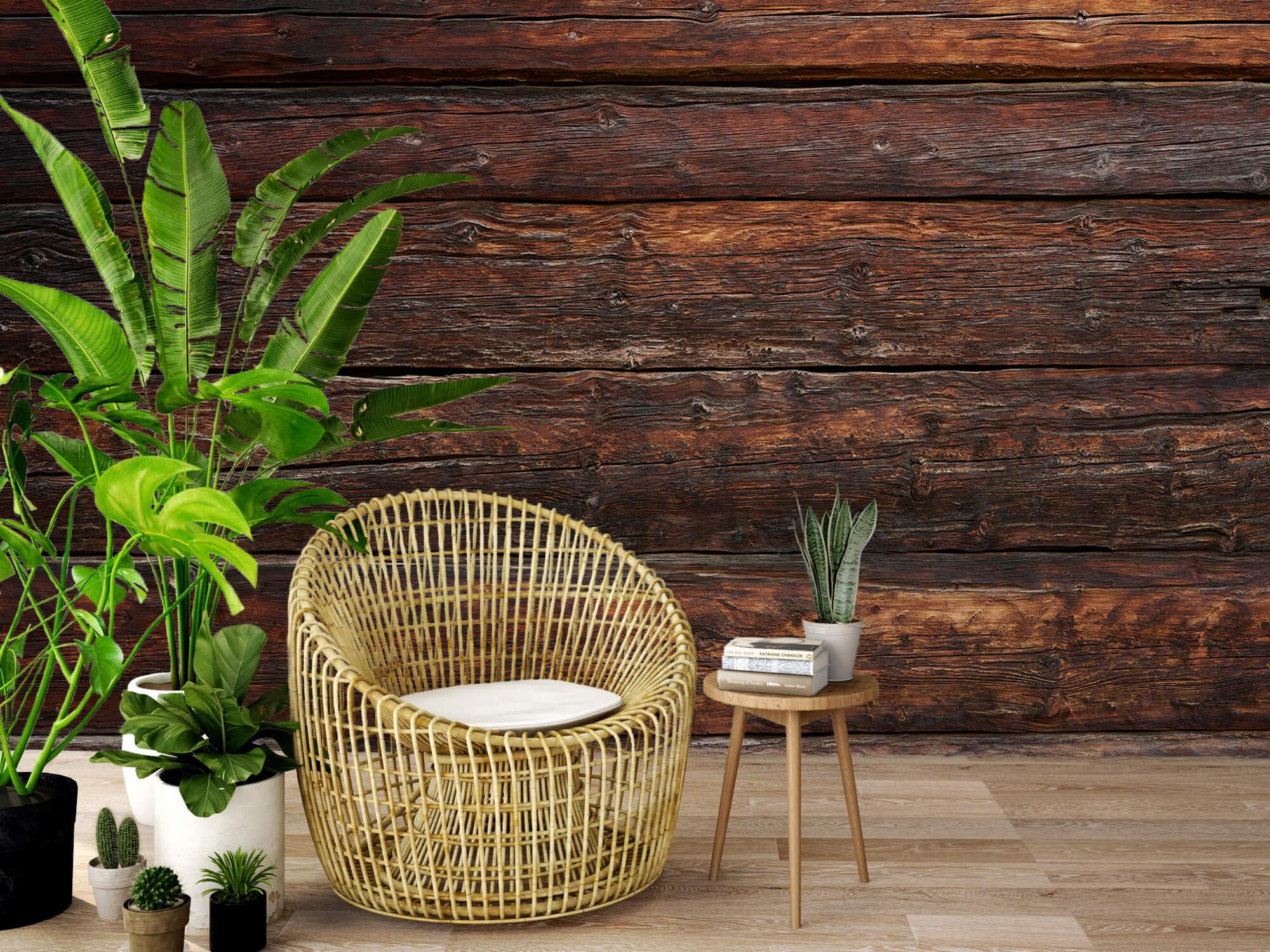 wallpaper Grof hout 10