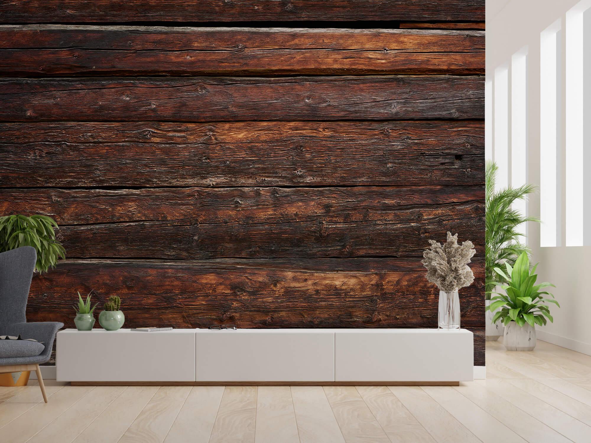wallpaper Grof hout 2