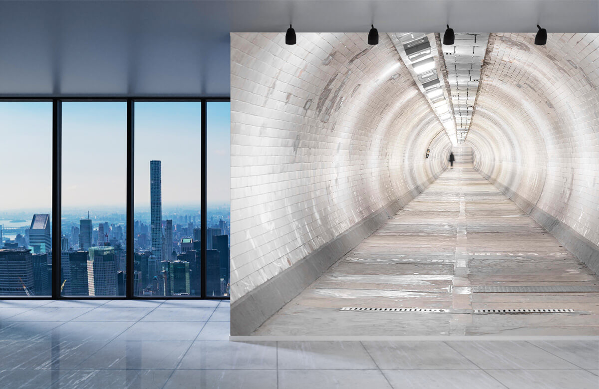 wallpaper Ondergrondse tunnel 5