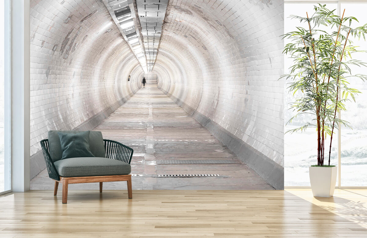 wallpaper Ondergrondse tunnel 1