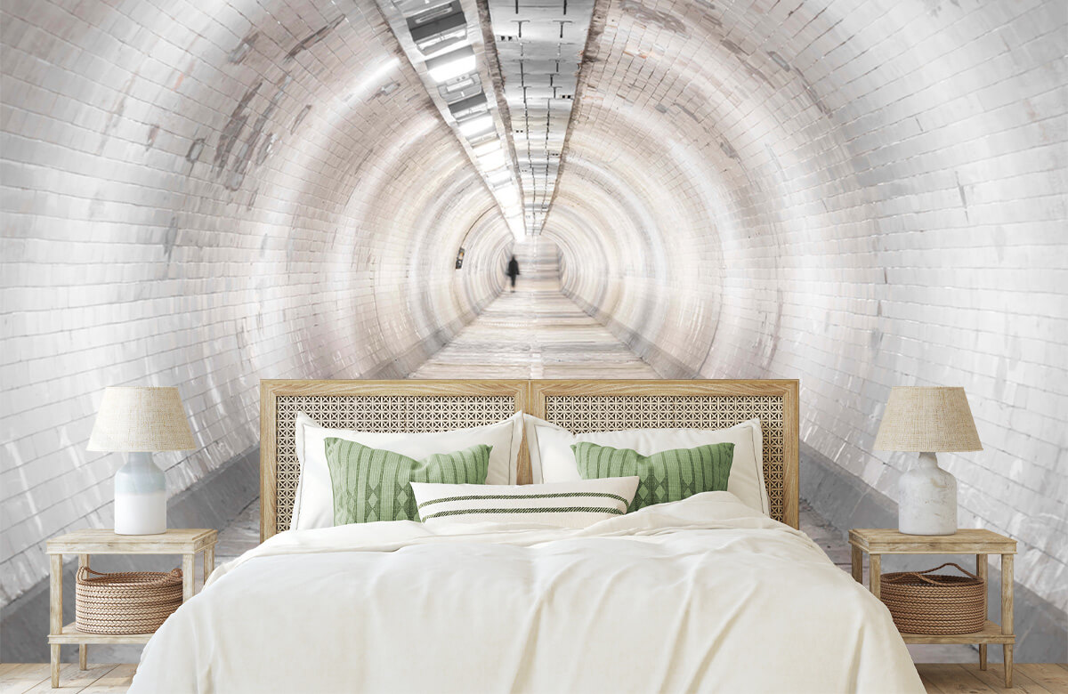 wallpaper Ondergrondse tunnel 8