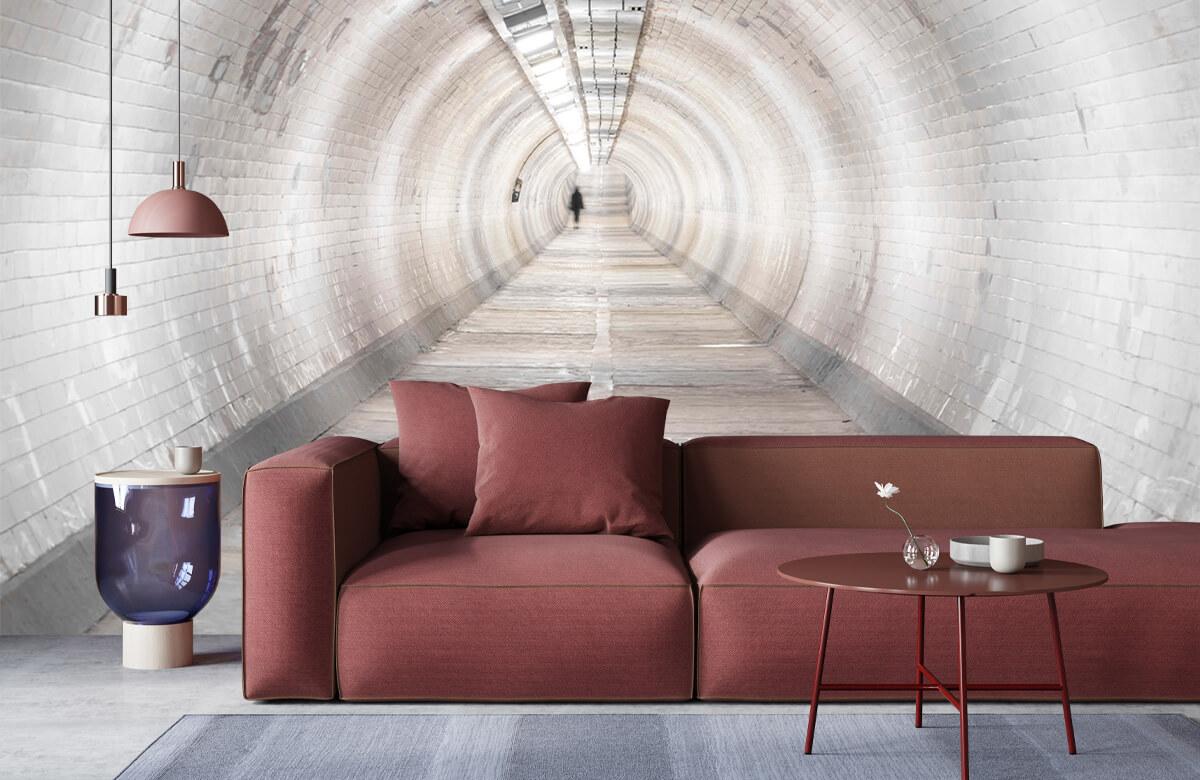 wallpaper Ondergrondse tunnel 4