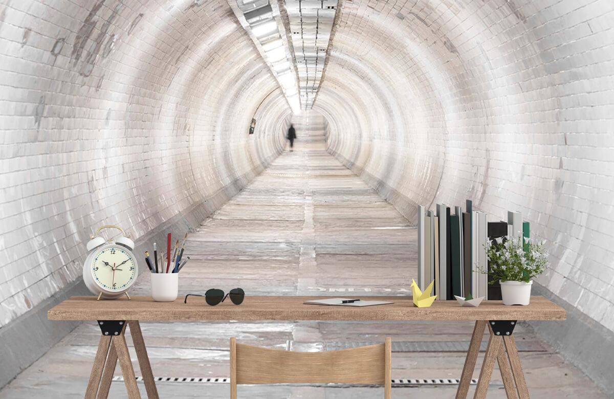 wallpaper Ondergrondse tunnel 9