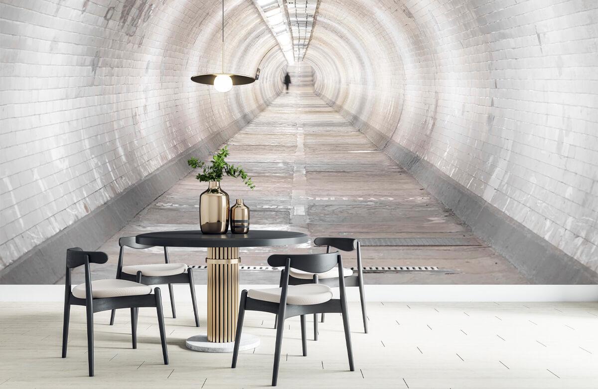 wallpaper Ondergrondse tunnel 3
