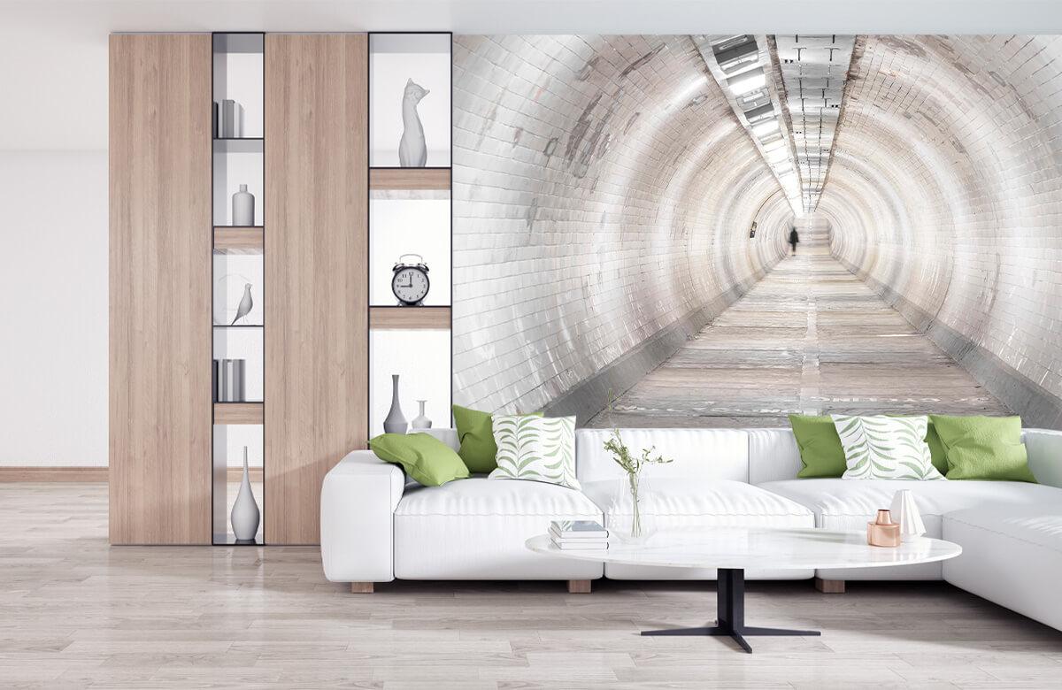 wallpaper Ondergrondse tunnel 2
