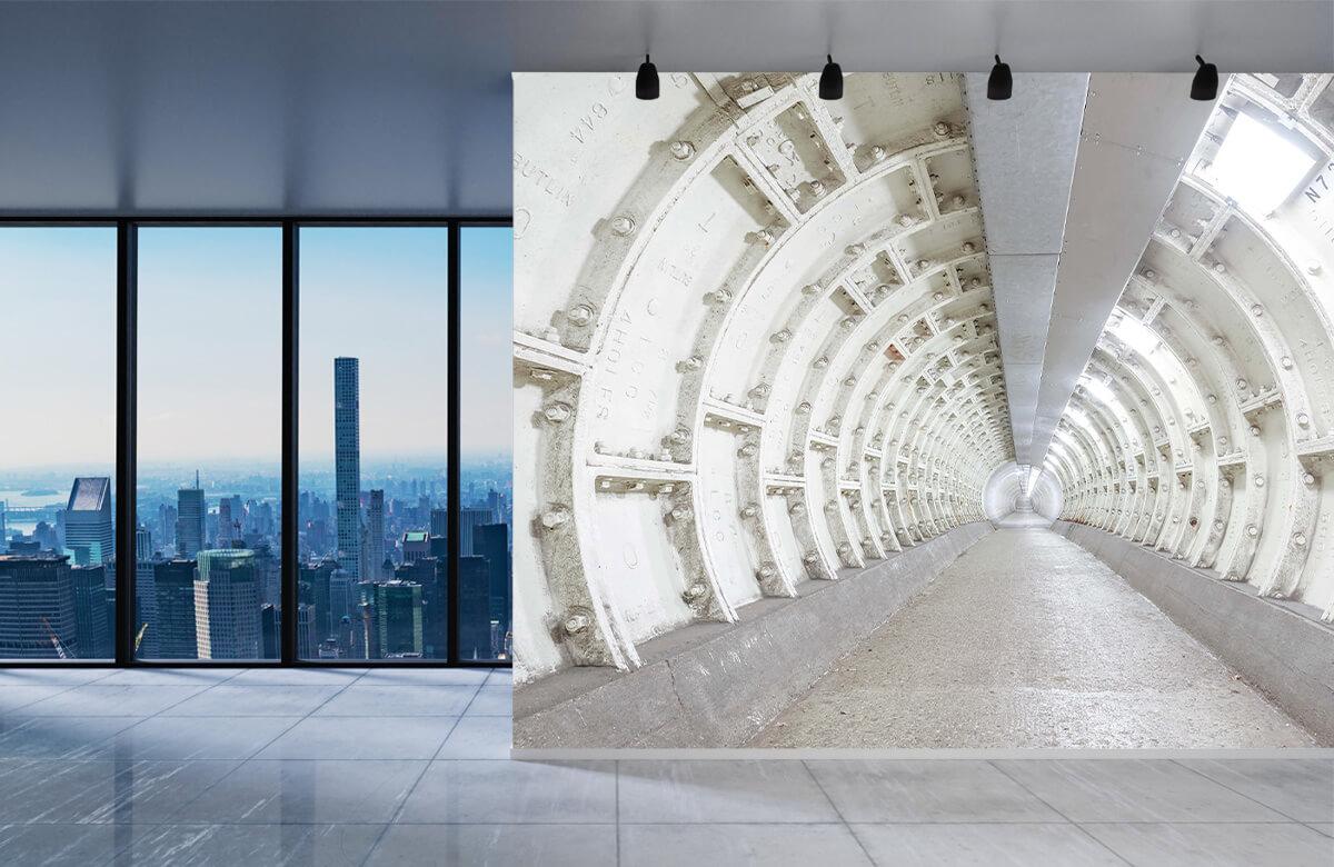 wallpaper Verlaten tunnel 4