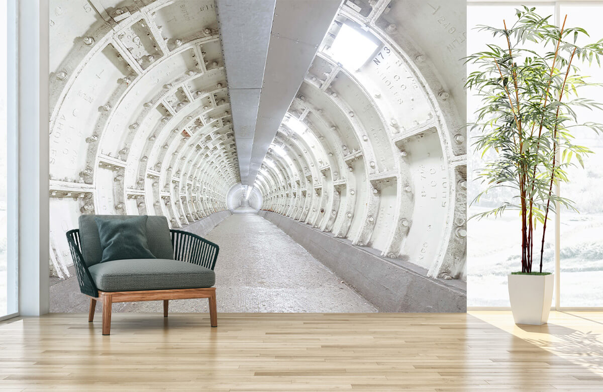 wallpaper Verlaten tunnel 6