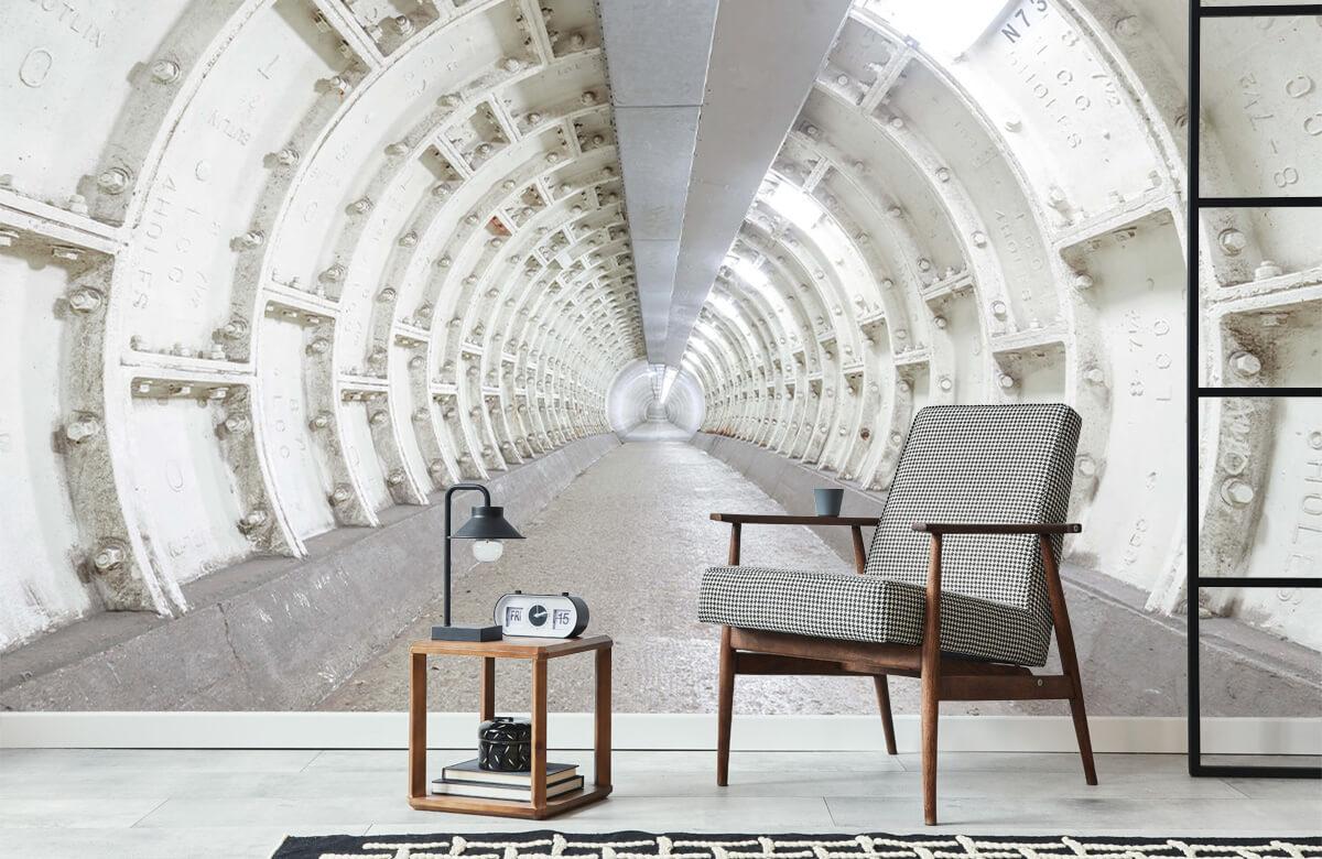 wallpaper Verlaten tunnel 8