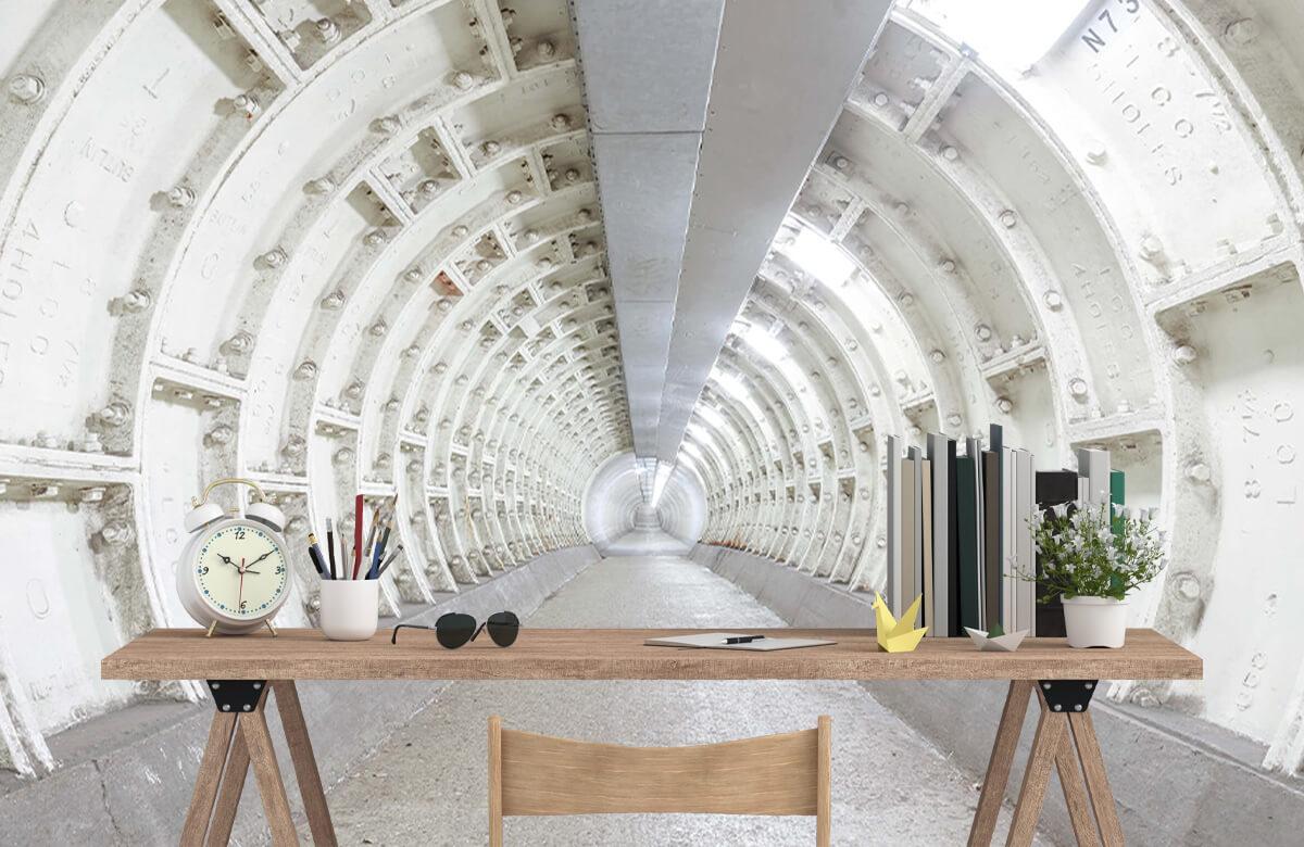 wallpaper Verlaten tunnel 1