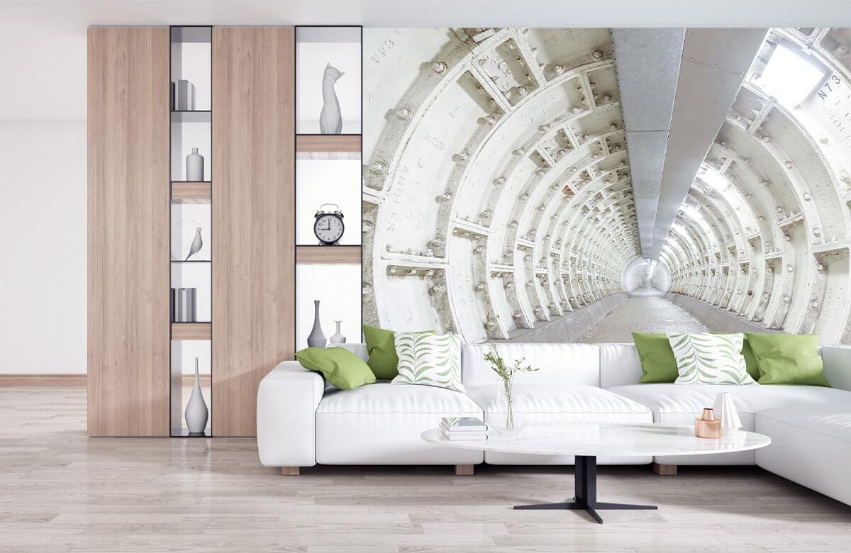 wallpaper Verlaten tunnel 10
