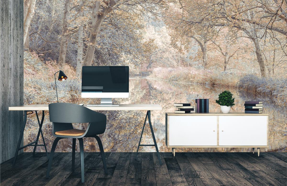 wallpaper Kanaal in het bos 3