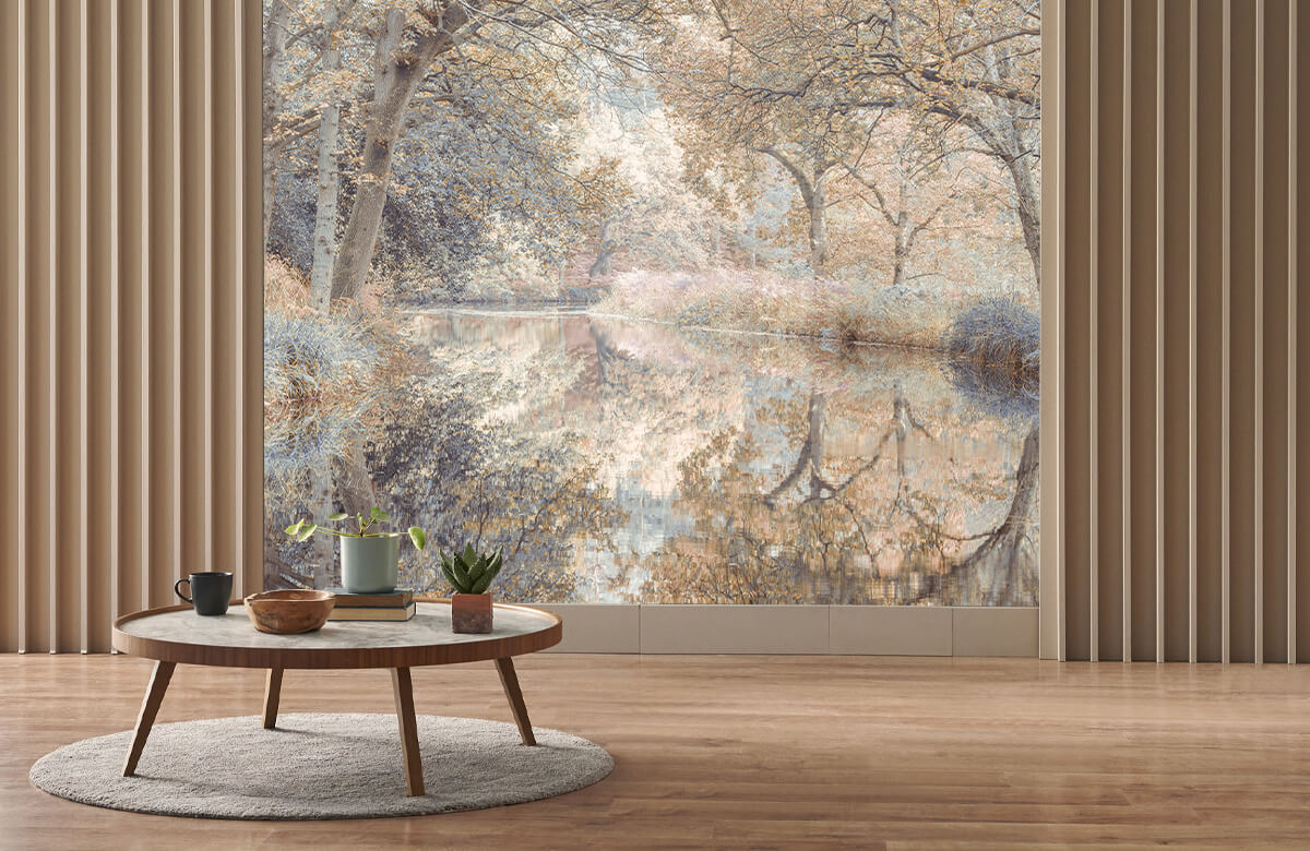 wallpaper Kanaal in het bos 4