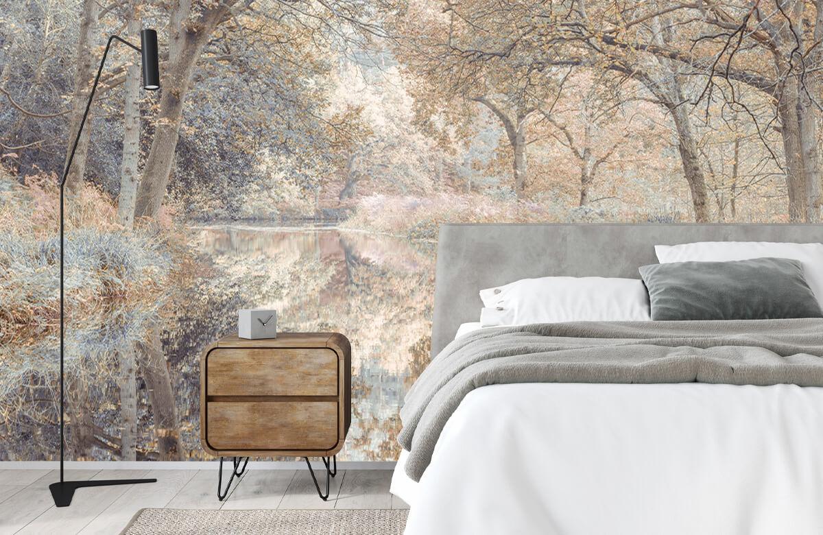 wallpaper Kanaal in het bos 5