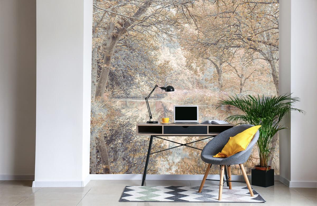 wallpaper Kanaal in het bos 1