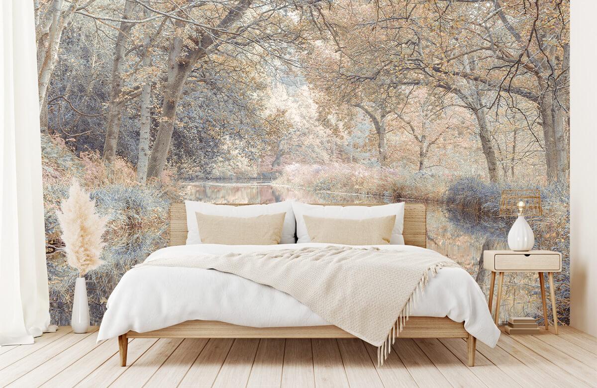 wallpaper Kanaal in het bos 6