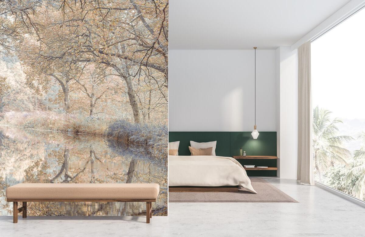 wallpaper Kanaal in het bos 2