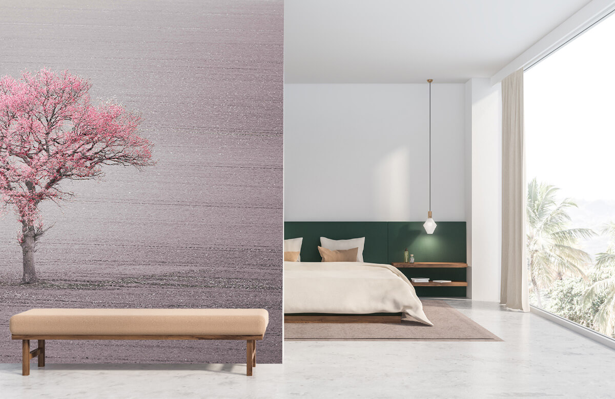 wallpaper Roze bladeren 8