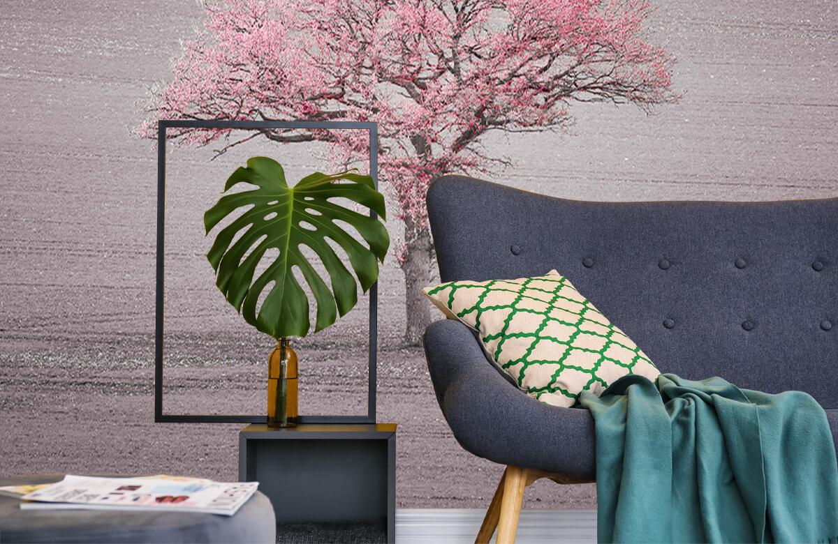 wallpaper Roze bladeren 10