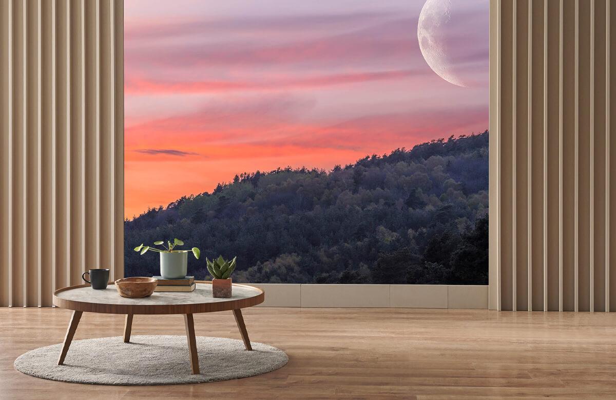 wallpaper De maan 2