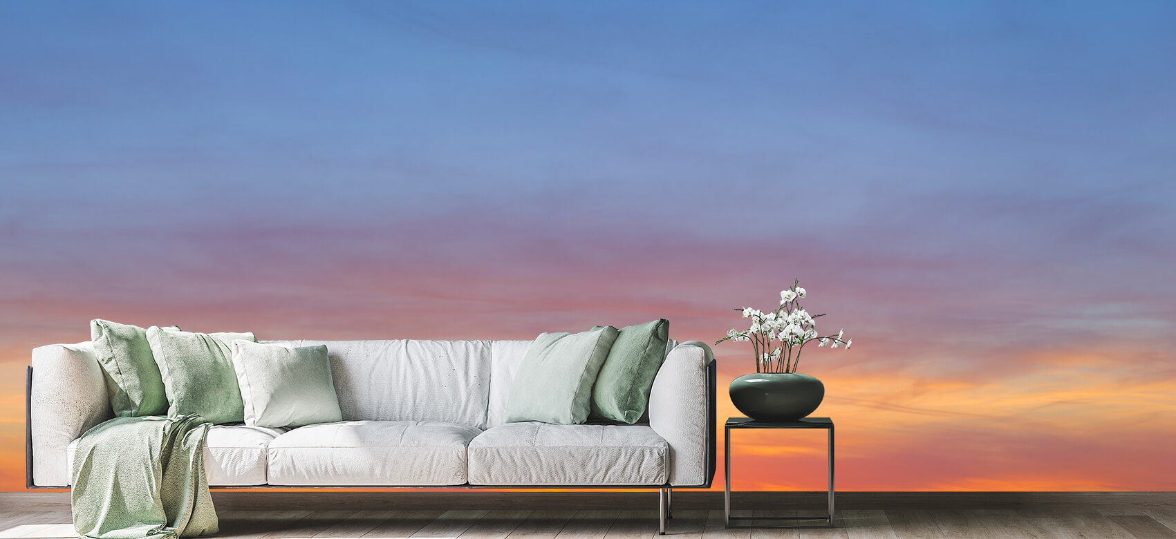 wallpaper Kleurrijke lucht 4