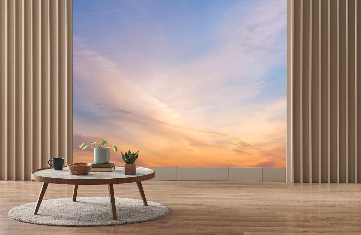 wallpaper Mooi gekleurde lucht 2