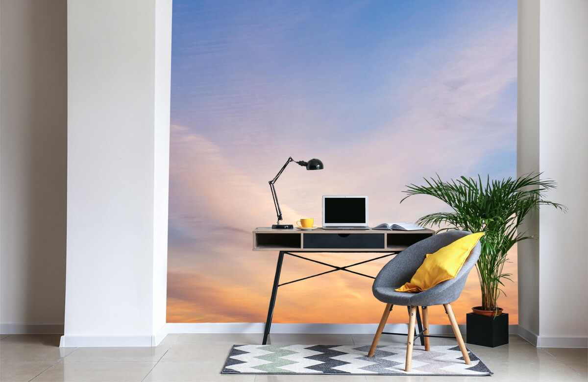 wallpaper Mooi gekleurde lucht 4