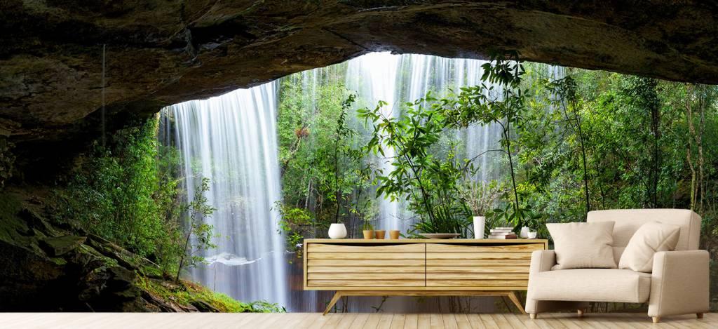 Watervallen - Waterval in Thailand - Vergaderruimte 1