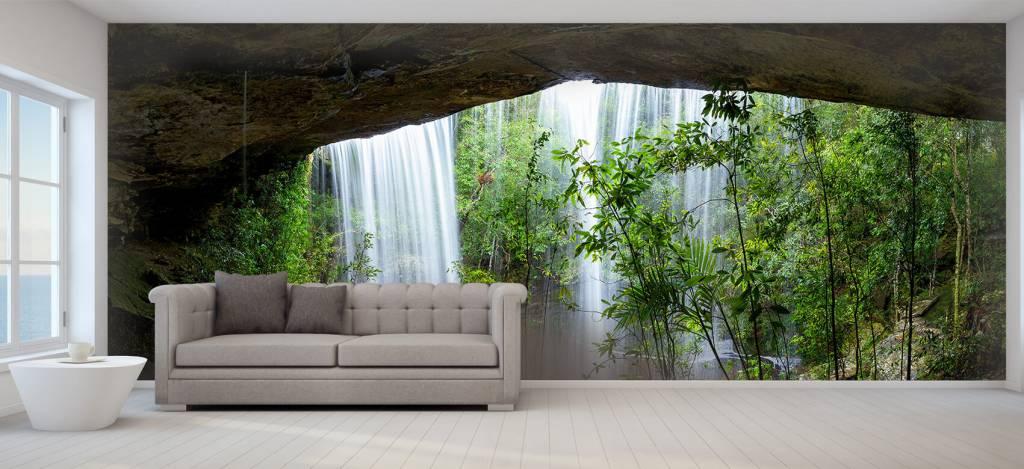Watervallen - Waterval in Thailand - Vergaderruimte 6