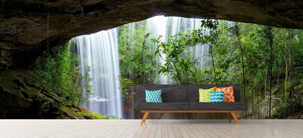 Watervallen - Waterval in Thailand - Vergaderruimte 8