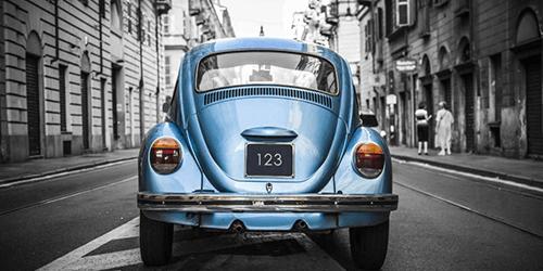 Transport fotobehang