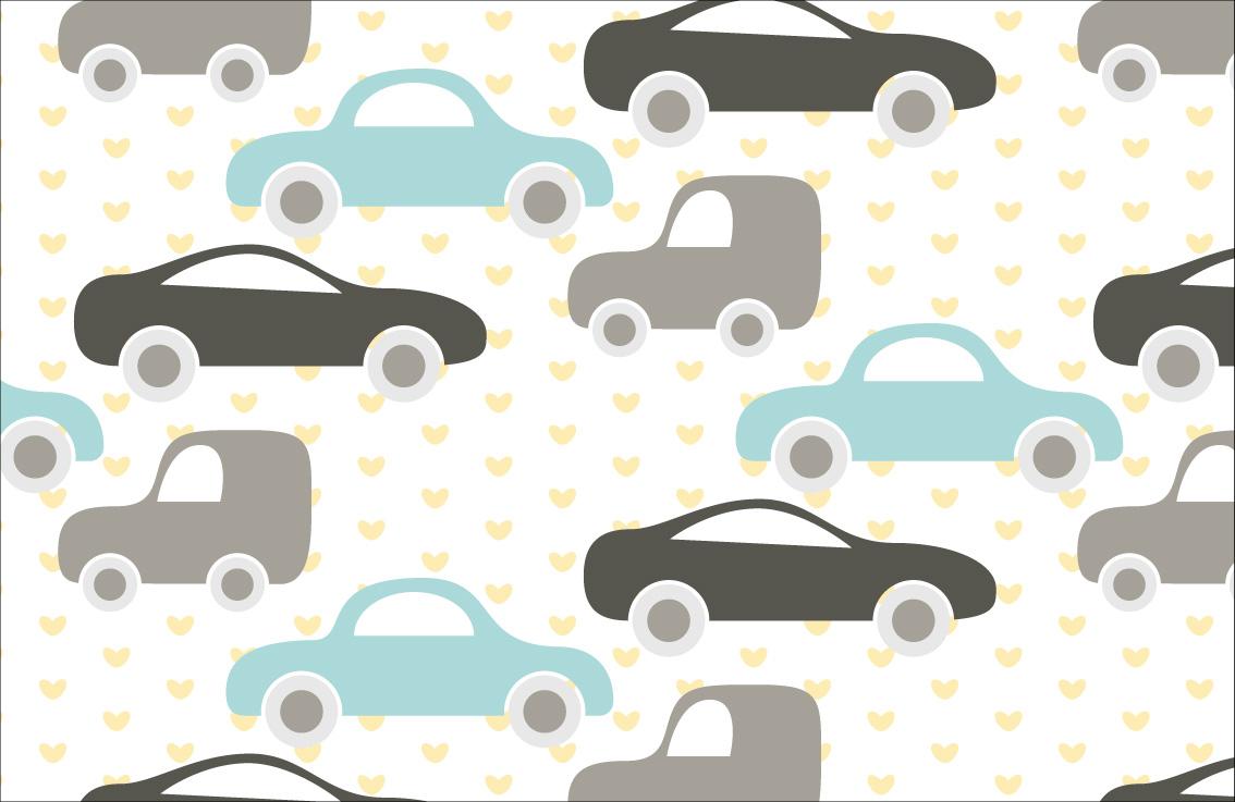 Kinderbehang Met Autos.Kinderbehang Waar Je Kind Blij Van Wordt Fotobehang