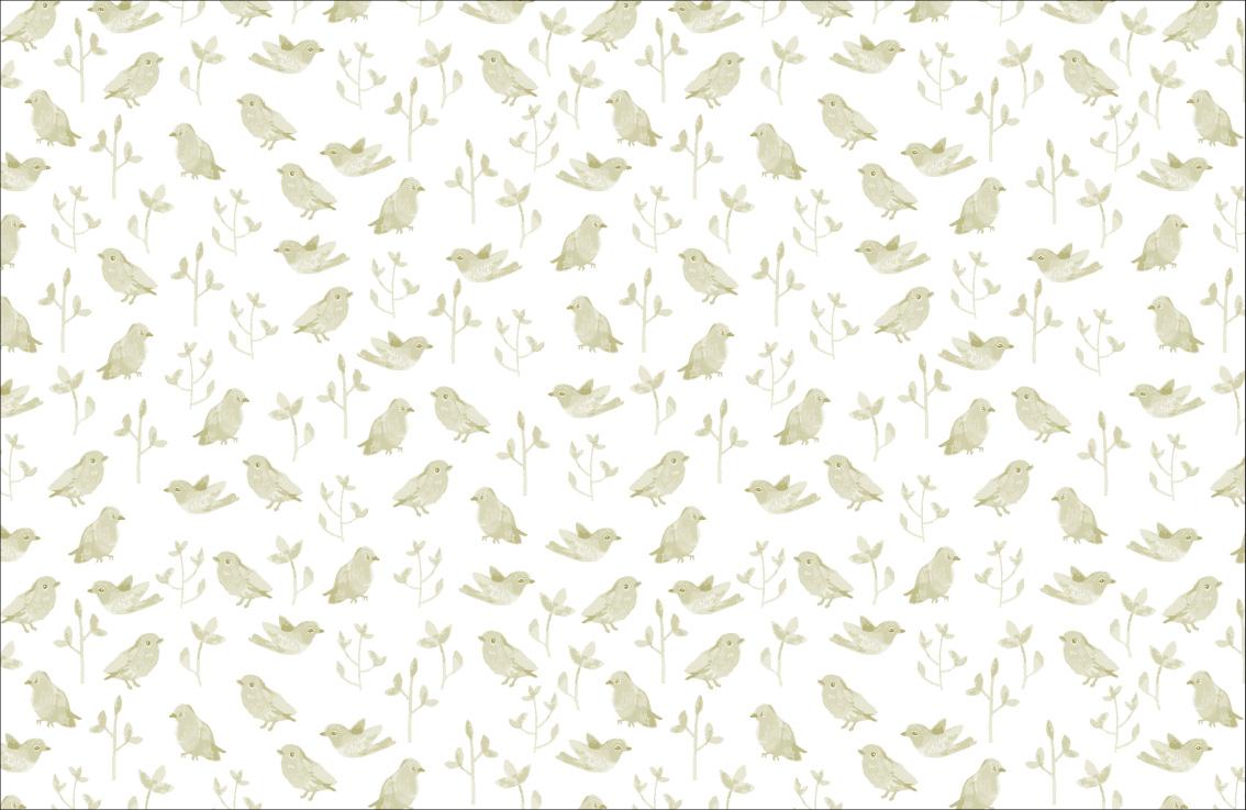 Vogeltjes Behang Lief.Fotobehang Met Vogels Met Vogelbehang Haal Je De Natuur In